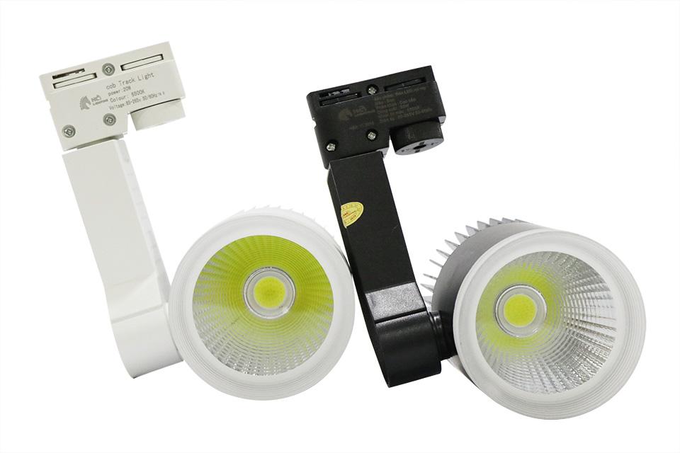 các loại đèn led trên thị trường: Đèn rọi ray