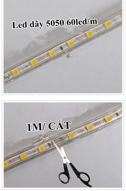Cách đấu đèn led dây