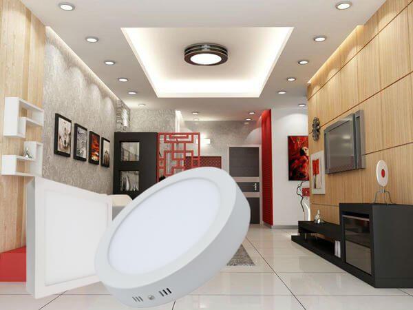 Đèn led ốp trần là gì? Phân loại, cấu tạo và ứng dụng - shop đèn led