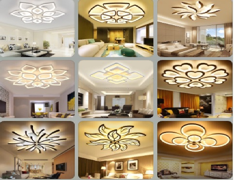 các loại Đèn Led trang trí trần nhà