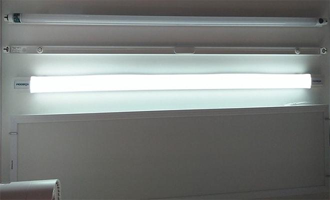 cách thay bóng đèn tuýp LED