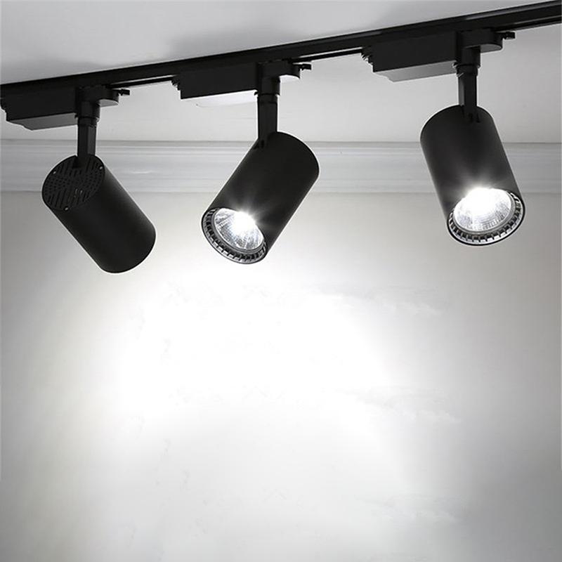 Đèn rọi ray SASIMI 15W thân đèn – Tuyết Lights