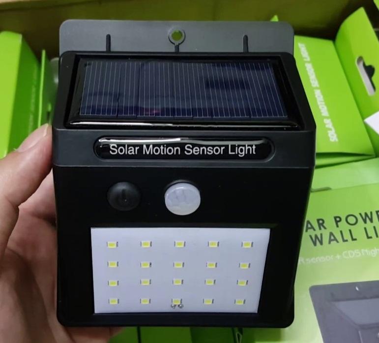 Đèn LED cảm biến chuyển động năng lượng mặt trời Solar