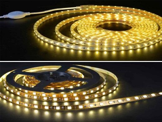 Đèn LED dây 220V và đèn LED dây 12V khác nhau như thế nào?