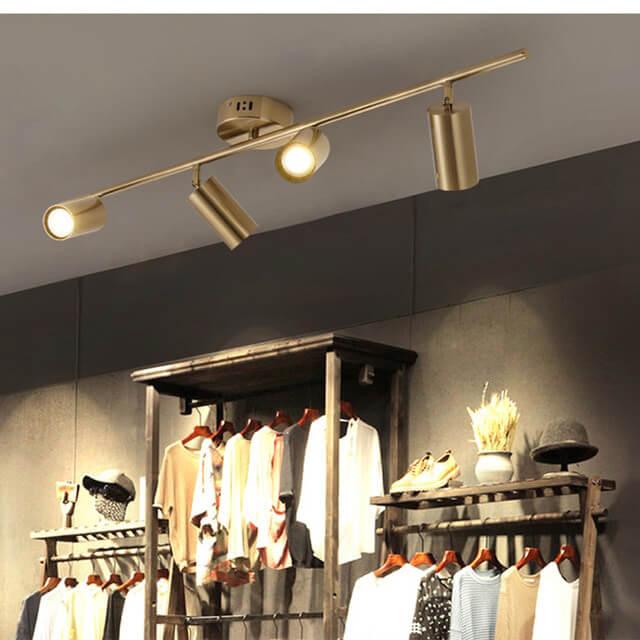 Đèn led rọi ray cho shop thời trang