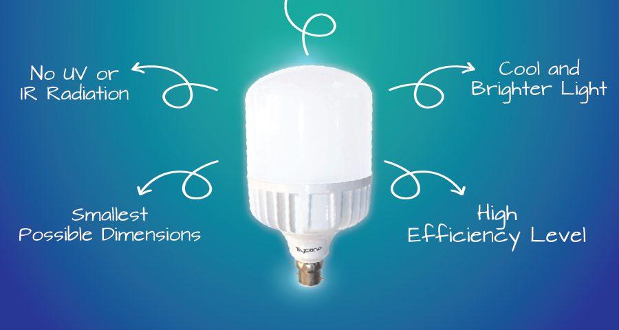 Khác biệt giữa đèn LED chất lượng cao và chất lượng thấp