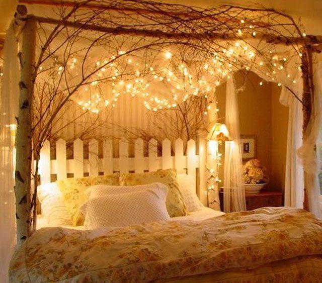 đèn led trang trí phòng ngủ
