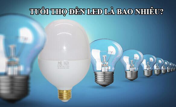 tuổi thọ của bóng đèn LED