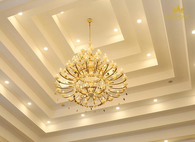 đèn thả phòng khách đẹp