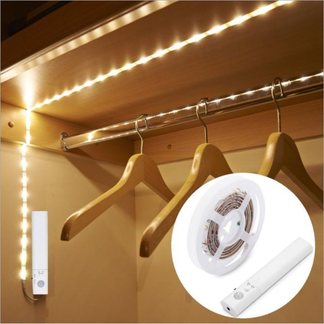 cách dán đèn led dây lên tường