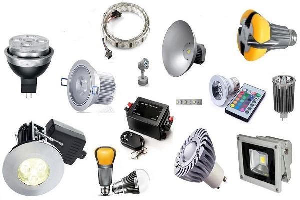 loại đèn led phổ biến